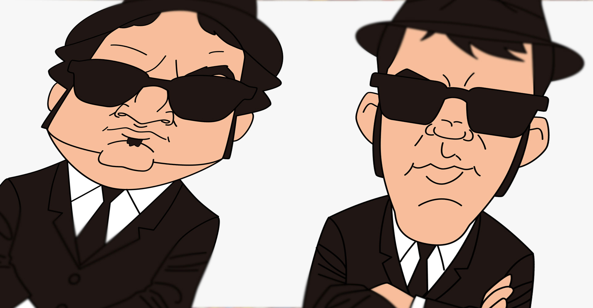 Blues Brothers - stressdoll