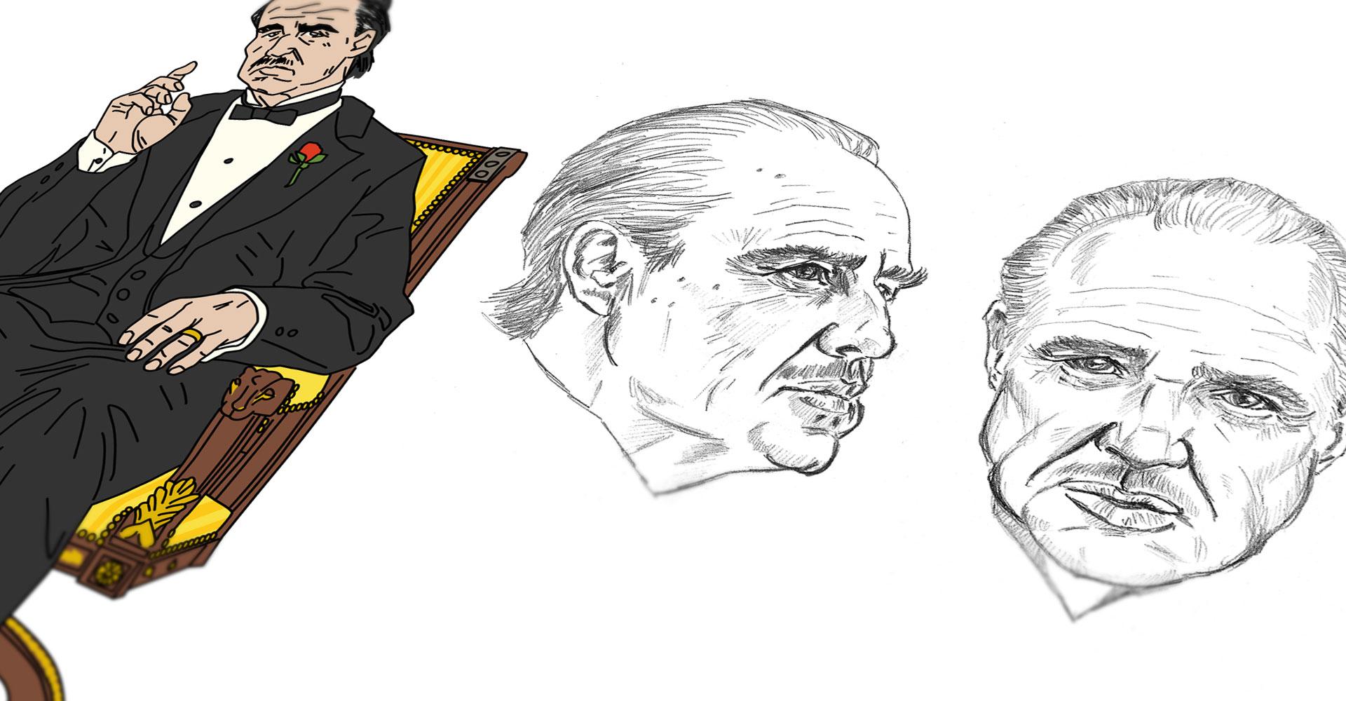 Movie Icons - Vito Corleone