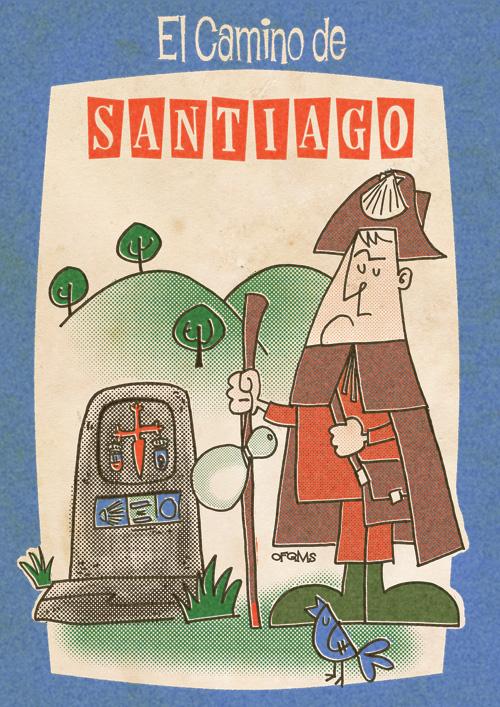 Camino de Santiago - illustration - fritsch-2365 | ello