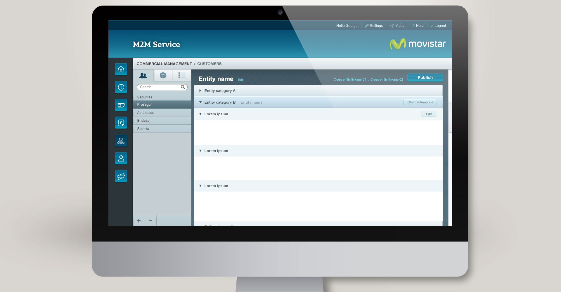 M2M Global Portal