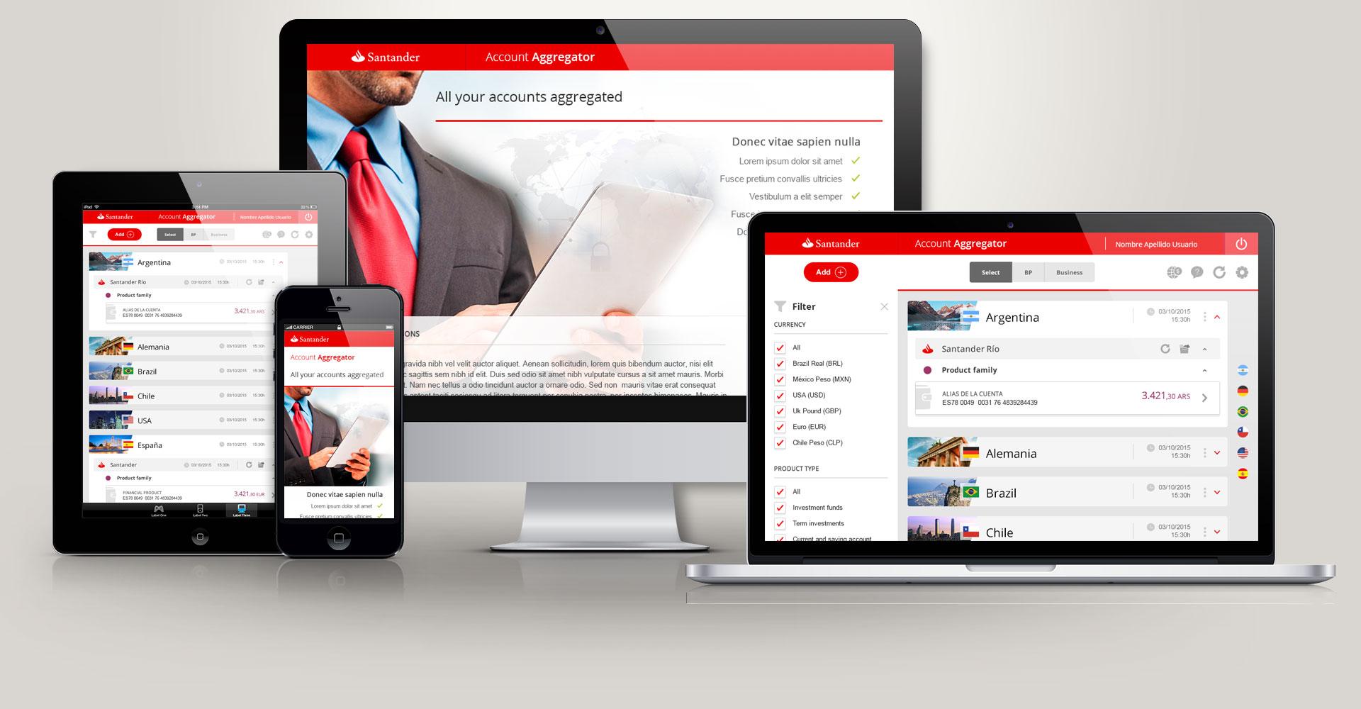 Santander - Account Aggregator